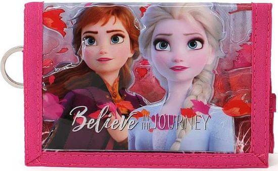 KARACTERMANIA Dětská peněženka Frozen 2 Ledové království Believe 3D