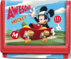 KARACTERMANIA Dětská peněženka Mickey Mouse Skate 3D