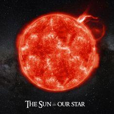 mapcards.net 3D štvorec The Sun - Our Star