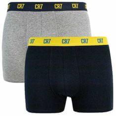CR7 2PACK pánské boxerky vícebarevné (8302-49-2725)
