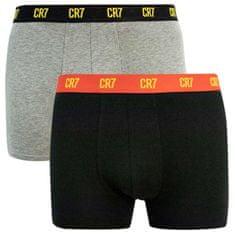 CR7 2PACK pánské boxerky vícebarevné (8302-49-2724)
