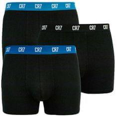 CR7 3PACK pánské boxerky černé (8100-49-2679)