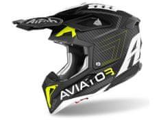 Airoh AVIATOR 3.0 Primal, AIROH (matná žlutá, vel. XS) 2021