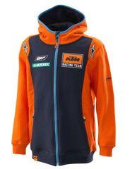 KTM mikina REPLICA TEAM (modrá/oranžová)