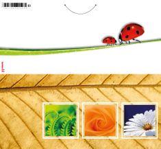 tvorme Blahoprajná zatváracia pohľadnica bez textu s obálkou - p003 (štvorce)