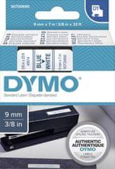 Dymo D1 409140 traka, 9 mm x 7 m, plavo/bijela