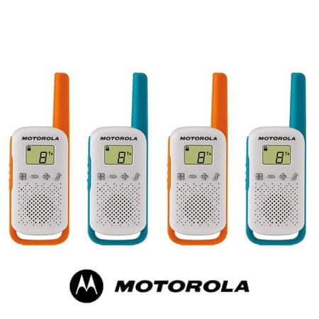 Motorola TLKR T42 PMR set 4 radijske postaje
