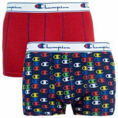 Champion 2PACK pánské boxerky vícebarevné (Y081W)