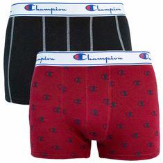 Champion 2PACK pánské boxerky vícebarvné (Y081W)