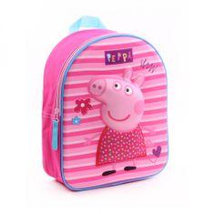 "Vadobag Detský ruksak ""Peppa Pig - Pretty Little Things 3D"" - ružová"