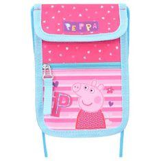"""Vadobag Detská textilná peňaženka """"Peppa Pig - Be Happy"""" - ružová"""