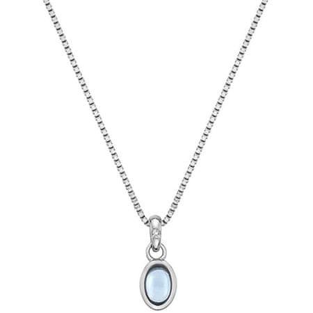 Hot Diamonds Ezüst nyaklánc született decemberi Birthstone DP765-ben ezüst 925/1000