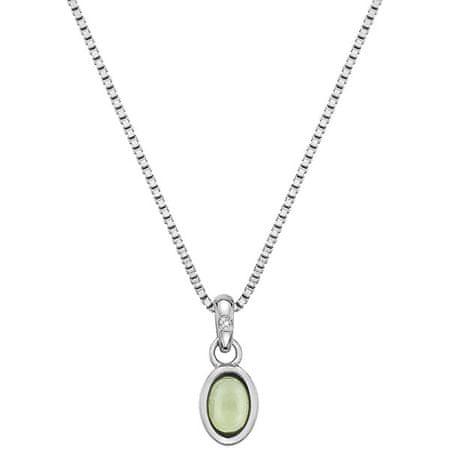 Hot Diamonds Ezüst nyaklánc született augusztusban Birthstone DP761 ezüst 925/1000