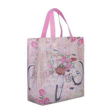 Kraftika Háztartási táska, osztály villám nélkül, rózsaszín, pvc