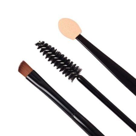 Kraftika Makijaż zestaw, 3 sztuk, kolor czarny