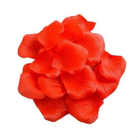 Kraftika Állítsa be a dekoratív rózsaszirom 5,5 cm szövet, 144 db