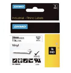 Dymo Rhino 1805430 traka, 24 mm x 5,5m, crna/ bijela, vinil