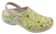Nursing Care PARIS pracovní kožená pratelná obuv s certifikací s páskem Playing / Kids.Enf. WG4PF55 Nursing Care Velikost: 36