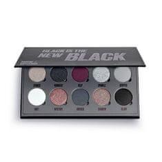 Makeup Obsession A Black is the new fekete megszállottság (Eye Shadow Palette) 13 g