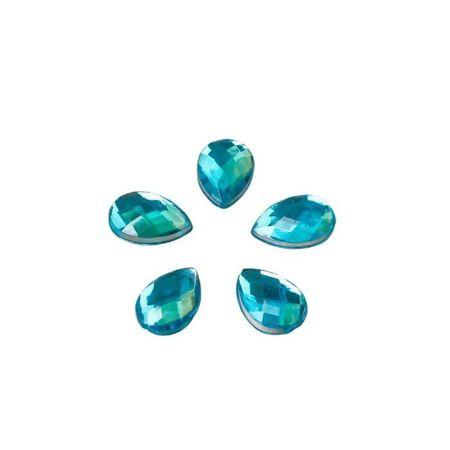"""Kraftika Dekoracje dla kreatywności plastik """"krople kryształów."""