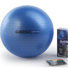 Ledragomma PEZZI GymBall MAX 53 cm, piłka, niebieska, pudełko