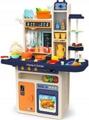 iMex Toys Dětská kuchyňka XXL se zvuky a tekoucí vodou modrá