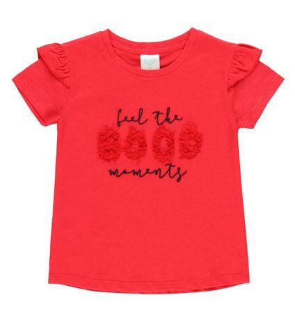 Boboli lány póló 452089, 116, piros