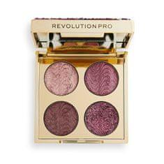 Revolution PRO Paletka očných tieňov Ultimate Crysta Pink Topaz 3,2 g