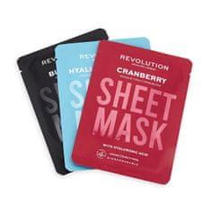 Revolution Skincare Biodegradowalna (Dehydrated Skin Sheet Mask) płachcie (Dehydrated Skin Sheet Mask)
