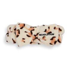 Revolution Skincare Kozmetični naglavni trak Luxe Leopard Print