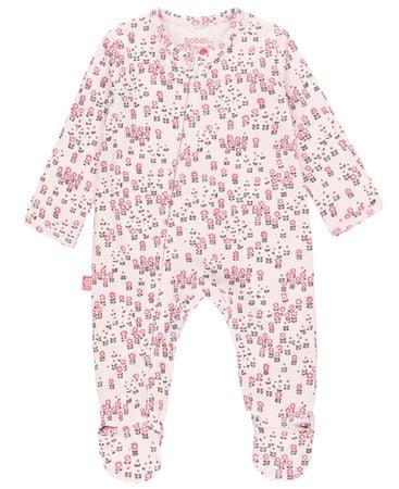 Boboli dekliški pajac z dolgimi rokavi 102092, 68, roza
