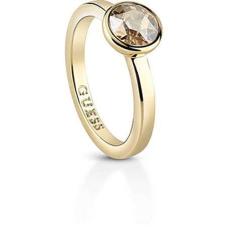 Guess Női aranyozott gyűrű UBR83021 (Kerület 52 mm)