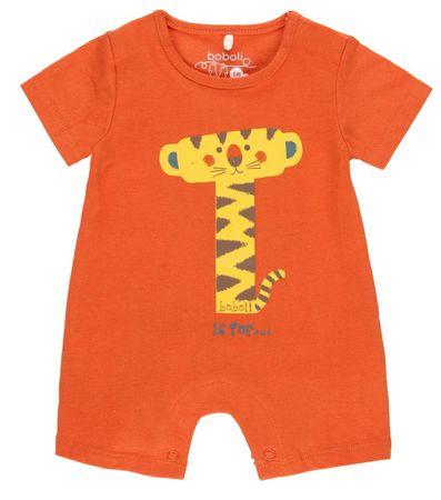 Boboli fantovski pajac s tigrom 112093, 86, oranžen