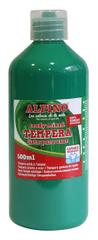 Alpino Fľaša temperové farby do školy 500 ml. zelená
