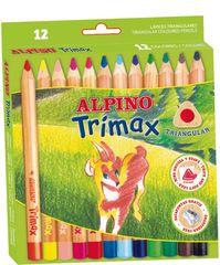 Alpino Box 12 pasteliek Trimax Jumbo