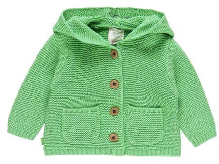 Boboli otroški pulover s kapuco 112037, 74, zelen