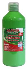 Alpino Fľaša temperové farby do školy 500 ml. svetlozelená