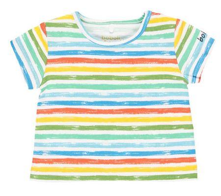 Boboli 132152 majica za dječake s kratkim rukavima, višebojna, 68
