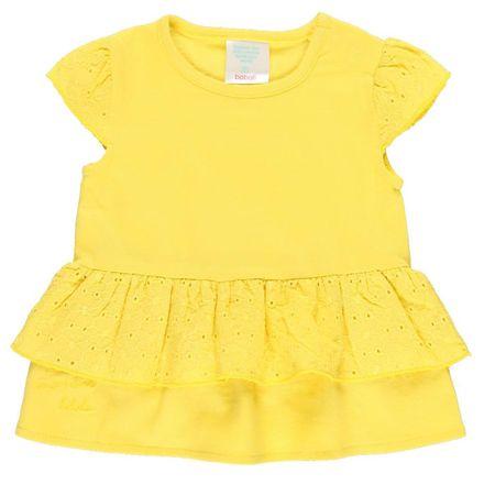 Boboli lány fodros póló 202093, 80, sárga