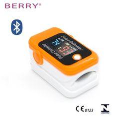 Babys BERRY BM1000C S Pulsní oximetr s bluetooth, oranžový