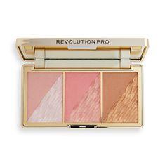 Revolution PRO Paletka na tvár Crystal Luxe (Face Palette) 8,4 g