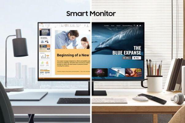 Monitor Samsung M5 (LS27AM500NUXEN) 60 Hz, full hd, hdr10