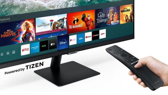Samsung M5 (LS27AM500NUXEN) Wi-Fi Mirroring Smart Wireless bez przewodów Netflix YouTube