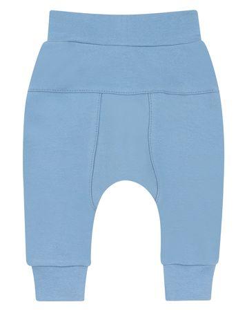 Nini hlače za dječake od organskog pamuka, ABN-2382, 80, plava