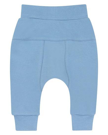 Nini chlapčenské tepláky z organickej bavlny ABN-2382 62 modrá
