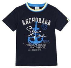 Boboli 502029 majica za dječake s printom sidra