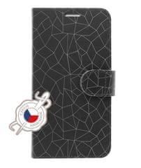 FIXED Pouzdro typu kniha FIXED FIT pro Samsung Galaxy J6+ (2018) J610 - motiv Grey Mesh