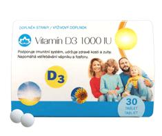 Novax  Vitamín D3 1000 IU 30 tablet