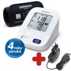 Omron Tonometr dig.OMRON M3 s Intelli manžetou +adaptér Zdarma + AKCE:5ks respirátorů FFP2 ZDARMA - Český výrobce