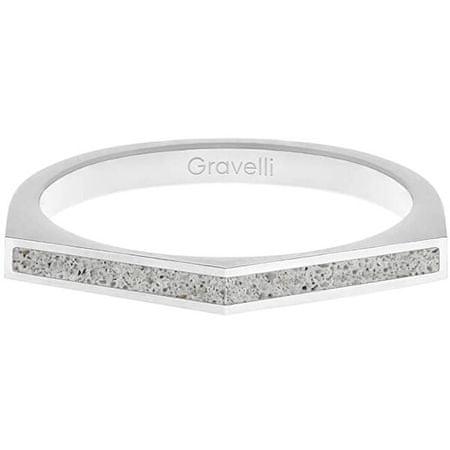Gravelli Acél gyűrű betonnal Kétoldalas acél / szürke GJRWSSG122 (Kerület 50 mm-es)